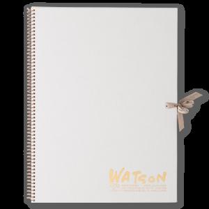 スケッチブック ホワイトワトソンブック F4
