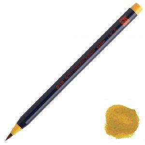 あかしや水彩毛筆【彩】単色 黄土色