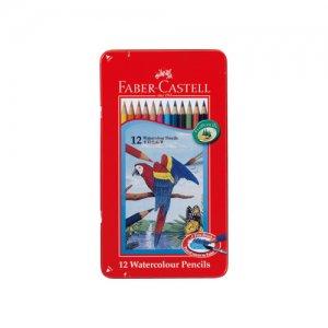水彩色鉛筆 ファーバーカステル 12色セット