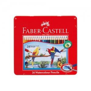 水彩色鉛筆 ファーバーカステル 24色セット