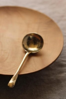 Brass Coffee Measuring Spoon - L