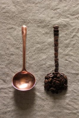 Copper Coffee Measuring Spoon - L