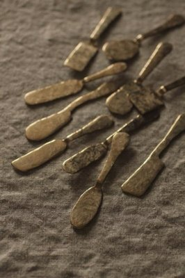 Brass Mini Pate Spreader