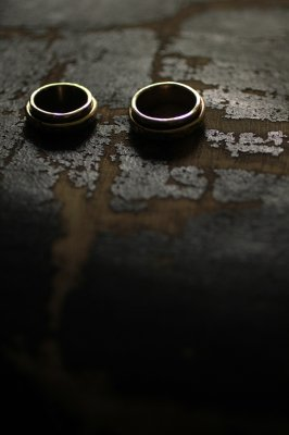 Pair Brass Mani Ring