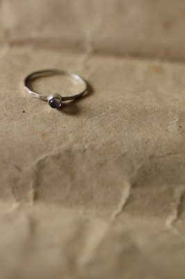 Moonstone Kyasha Silver Ring
