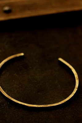 Brass Bangle 2mm