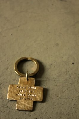 Brass Cross Key Holder