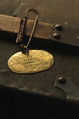 Brass Oval Brooch