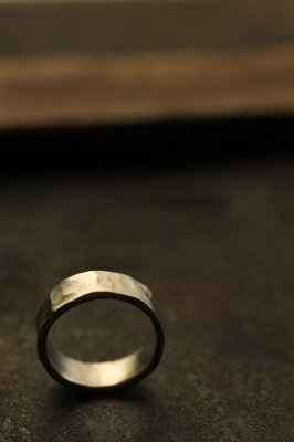 Silver Flat Ring 6mm - #1