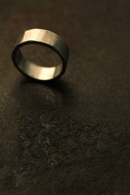 Silver Flat Ring 6mm - #2