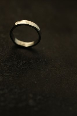 Silver Flat Ring 3mm