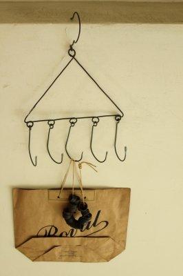 Iron Hook Hanger - 5
