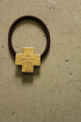 Brass Cross Hair Gom