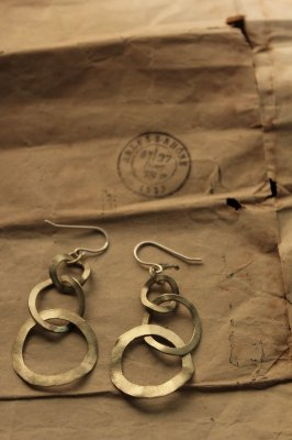 Brass Hoop Chain Pierce