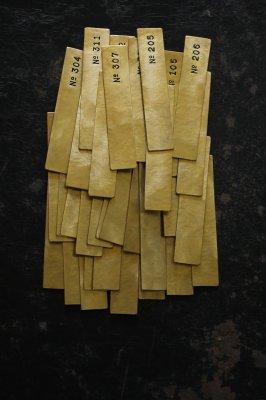 Brass Plate #1