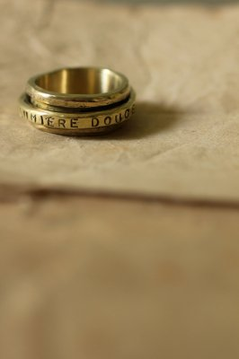 Brass Mani Ring