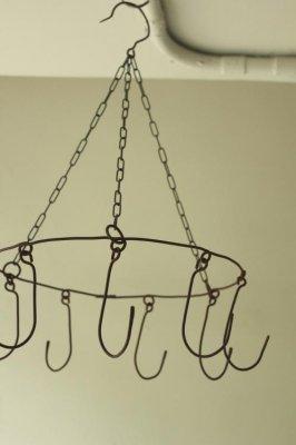 Iron Round Hook Hanger - 9