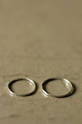 Pair Kyasha Silver Ring