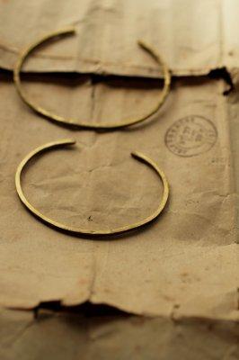Pair Brass Bangle 2mm