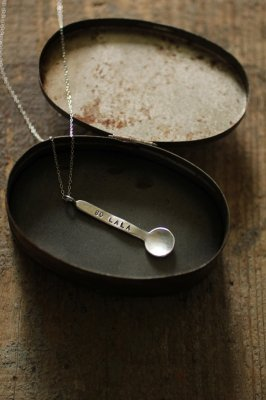 Little Silver Spoon Necklace