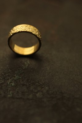 Brass Flat Ring 6mm - #3