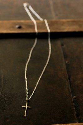 Brass Cross Necklace