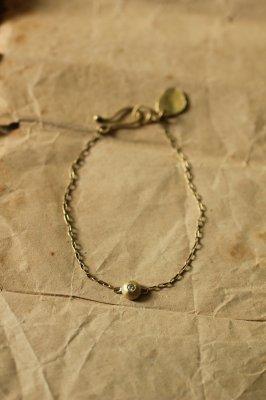 Zirconia Brass Bracelet