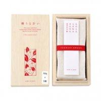 洗顔石鹸 【椿うるおい】 50g×5個入 〈木箱〉