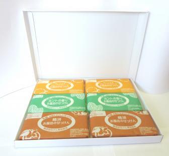 もらってうれしい石鹸ギフト・個性的な浴用石鹸3p×6個セット