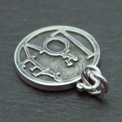 LOVE MINI COIN PENDANT