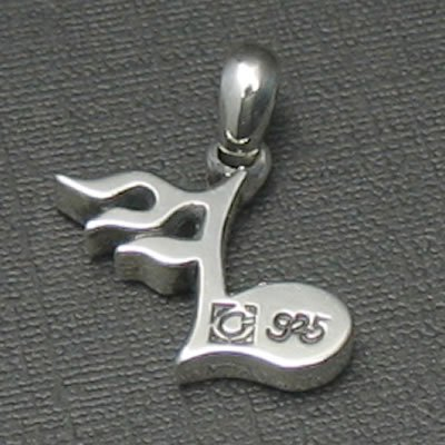 FLAME NOTE PENDANT