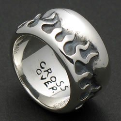FLAME SCALE RING