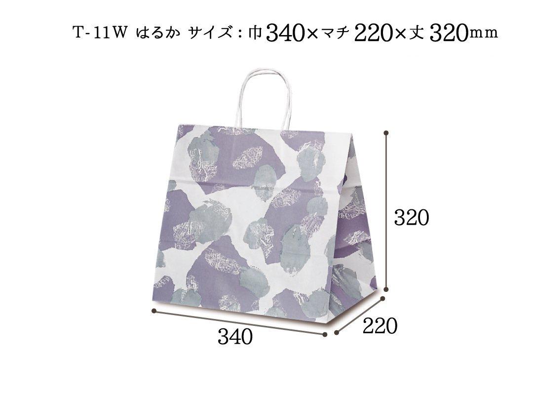 紙袋 T-11W はるか