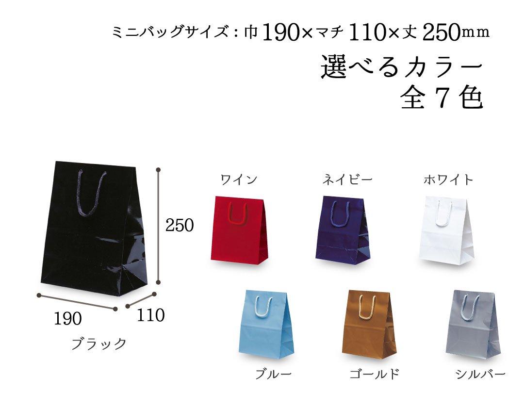 紙手提袋 ミニバッグ 10枚