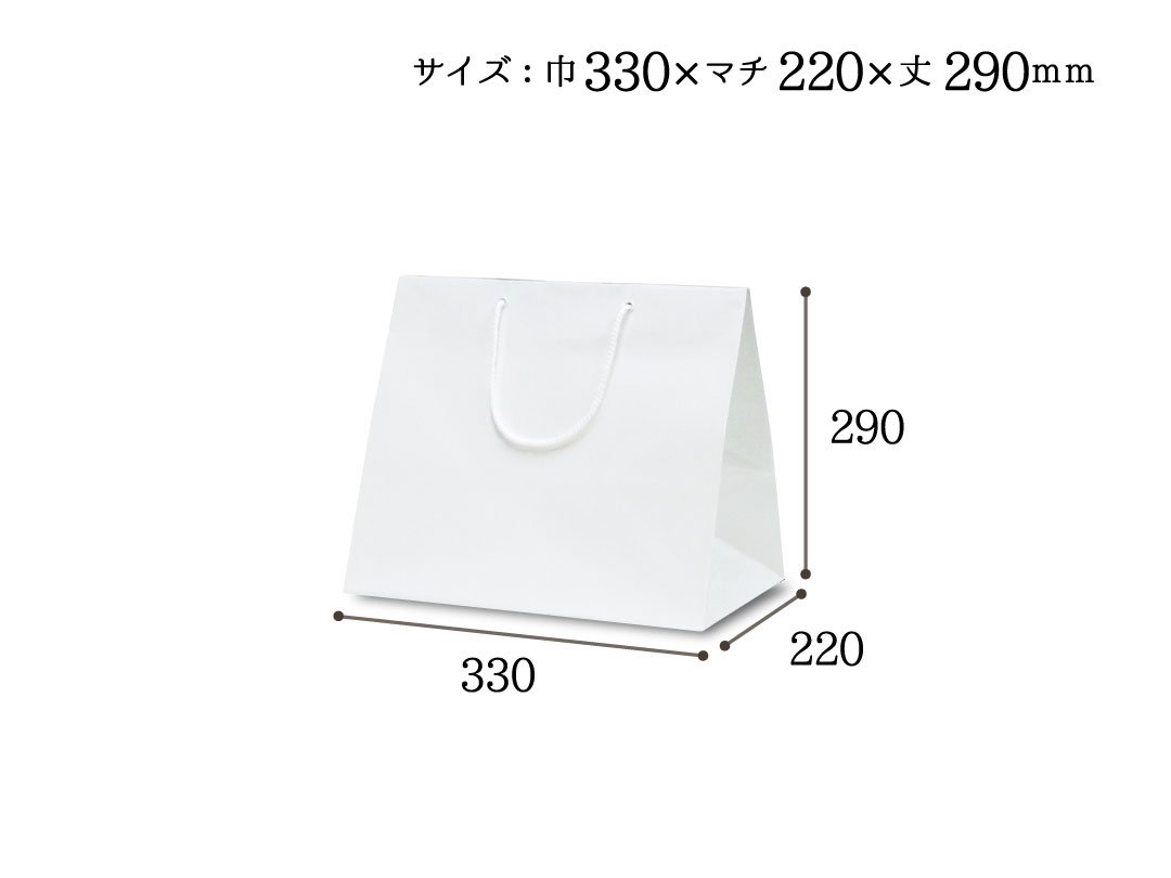 紙袋 ファインバッグ220ワイド