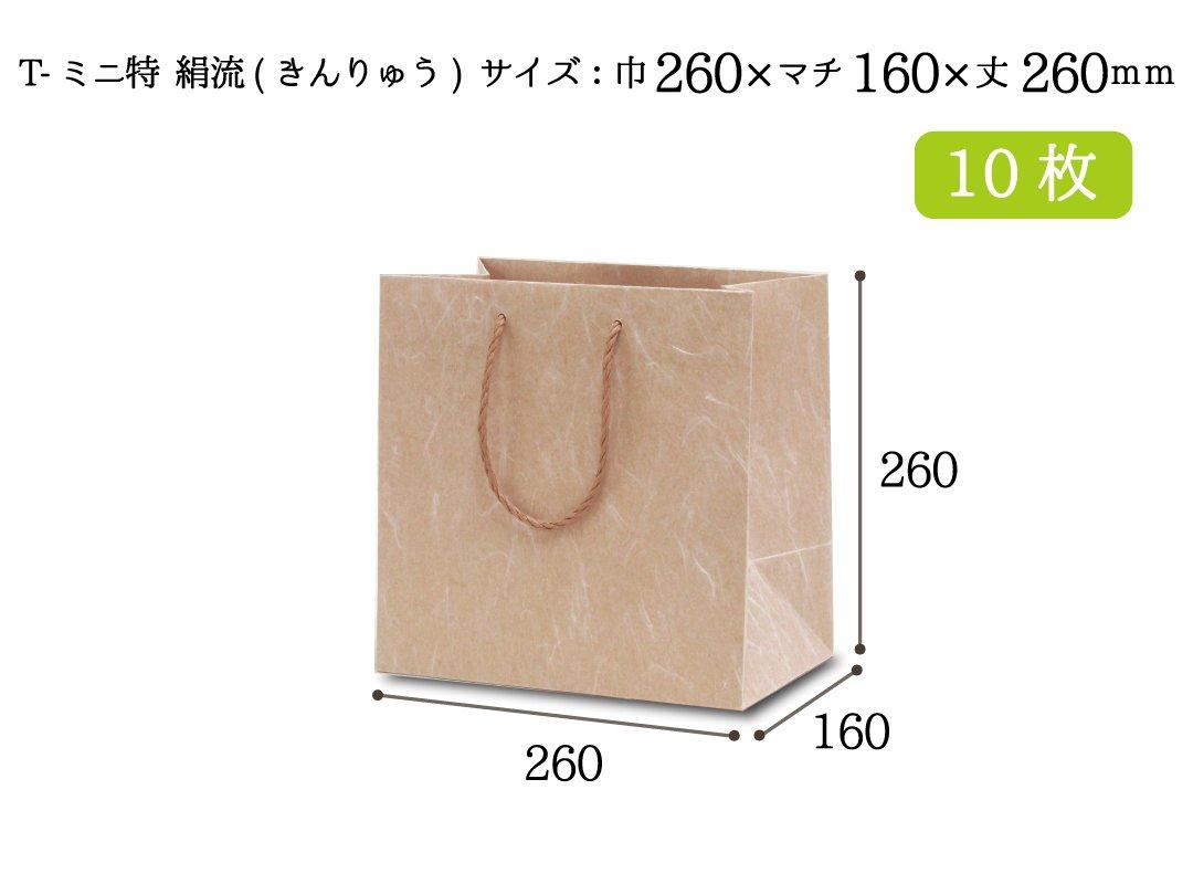 紙袋 T-ミニ特 絹流(きんりゅう) 10枚