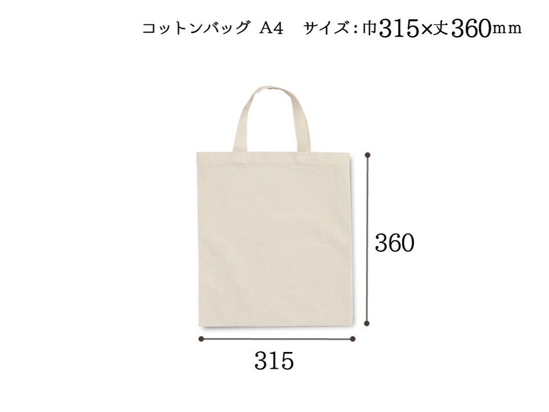 手提袋 コットンバッグ A4 10枚