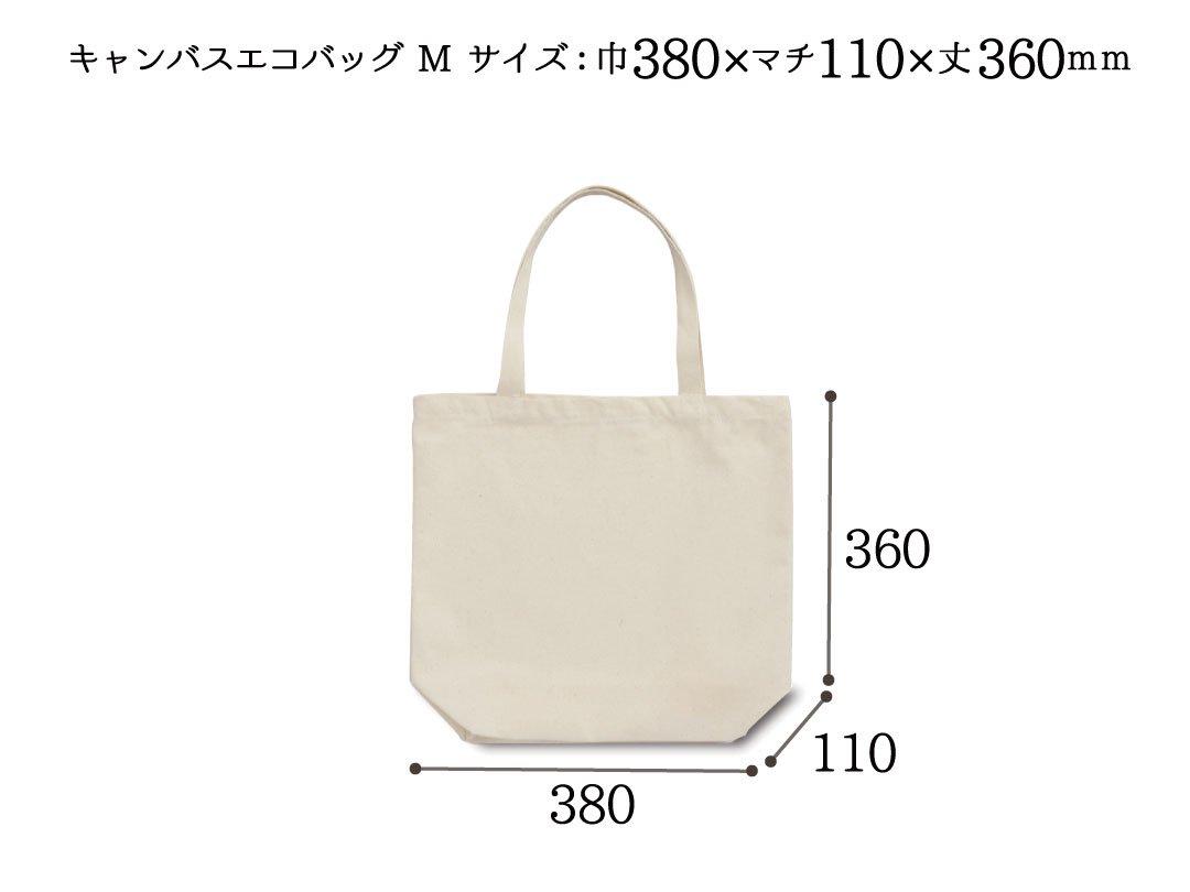 手提袋 キャンバスエコバッグ M 10枚