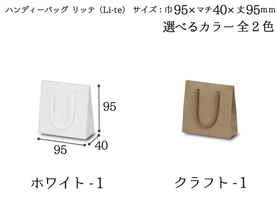 ハンディーバッグ リッテ(Li-te)−1 10枚