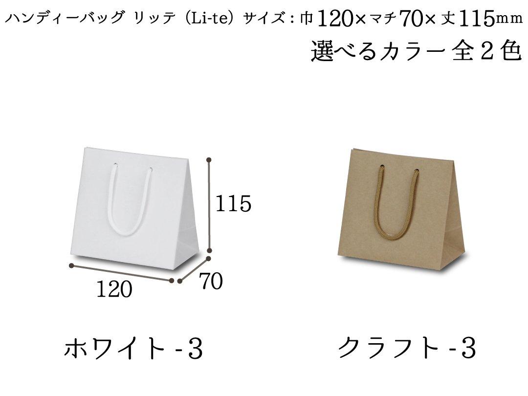 ハンディーバッグ リッテ(Li-te)−3 10枚