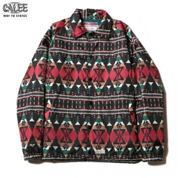 CL-245 Native Pattern Coach Jacket<img class='new_mark_img2' src='//img.shop-pro.jp/img/new/icons6.gif' style='border:none;display:inline;margin:0px;padding:0px;width:auto;' />