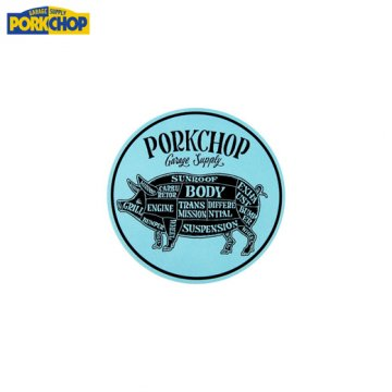 PC-052 Porkchop Circle Sticker<img class='new_mark_img2' src='//img.shop-pro.jp/img/new/icons50.gif' style='border:none;display:inline;margin:0px;padding:0px;width:auto;' />