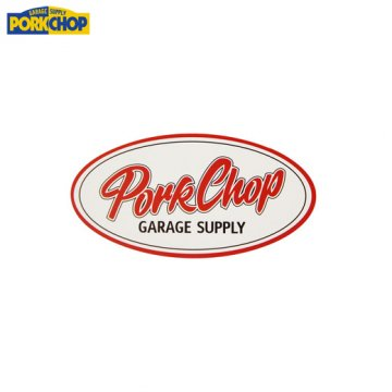 PORKCHOP Oval Sticker Small<img class='new_mark_img2' src='https://img.shop-pro.jp/img/new/icons7.gif' style='border:none;display:inline;margin:0px;padding:0px;width:auto;' />