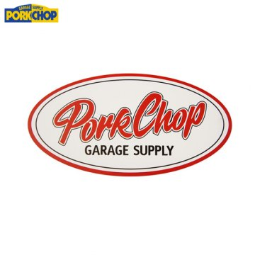 PORKCHOP Oval Sticker Large<img class='new_mark_img2' src='https://img.shop-pro.jp/img/new/icons7.gif' style='border:none;display:inline;margin:0px;padding:0px;width:auto;' />