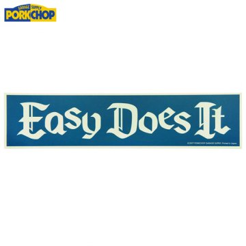 PC-056 Bumper Sticker Easy Does It<img class='new_mark_img2' src='//img.shop-pro.jp/img/new/icons50.gif' style='border:none;display:inline;margin:0px;padding:0px;width:auto;' />