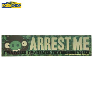 PC-061 Bumper Sticker ARREST ME I'M A PICKER I'M SKATER I'M A MIDNIGHT TOKER<img class='new_mark_img2' src='//img.shop-pro.jp/img/new/icons7.gif' style='border:none;display:inline;margin:0px;padding:0px;width:auto;' />