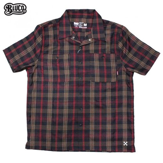 BL-011 Work Shirts S/S -P.Check-<img class='new_mark_img2' src='https://img.shop-pro.jp/img/new/icons50.gif' style='border:none;display:inline;margin:0px;padding:0px;width:auto;' />