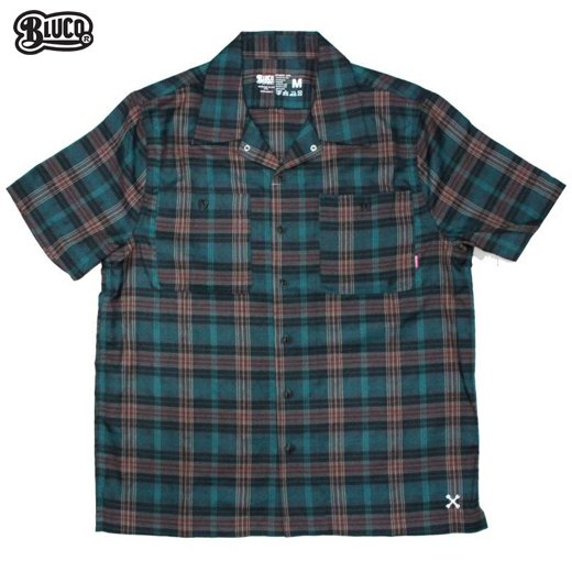 BL-012 Work Shirts S/S -P.Check-<img class='new_mark_img2' src='https://img.shop-pro.jp/img/new/icons50.gif' style='border:none;display:inline;margin:0px;padding:0px;width:auto;' />