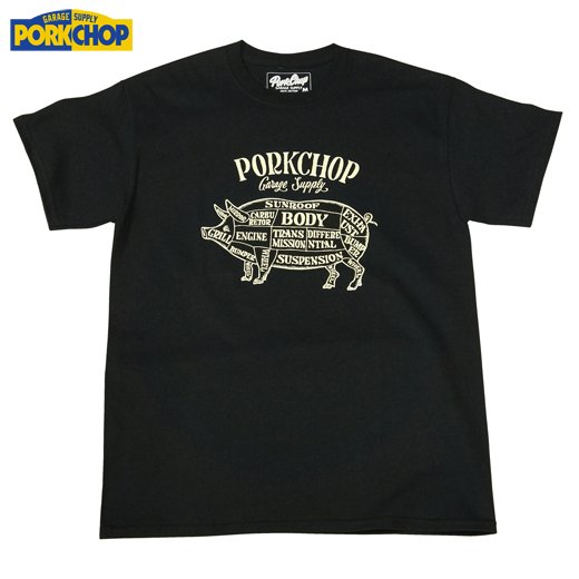 PC-074 Pork Front Tee<img class='new_mark_img2' src='//img.shop-pro.jp/img/new/icons50.gif' style='border:none;display:inline;margin:0px;padding:0px;width:auto;' />
