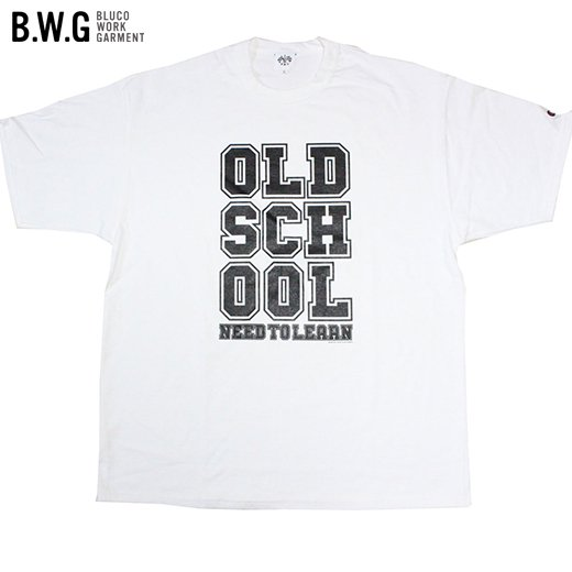 BWG-026 Old School Tee<img class='new_mark_img2' src='https://img.shop-pro.jp/img/new/icons50.gif' style='border:none;display:inline;margin:0px;padding:0px;width:auto;' />